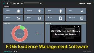 WOLFCOM now offers WEMS Lite, a free evidence management software for anyone to use