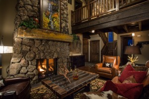 Guest Lodge Living Room 2