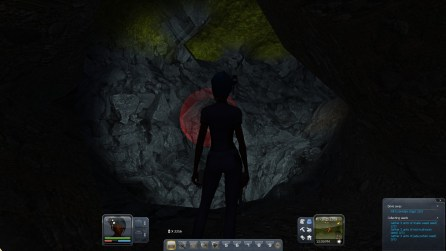 Mining out coal (Planet Explorers)
