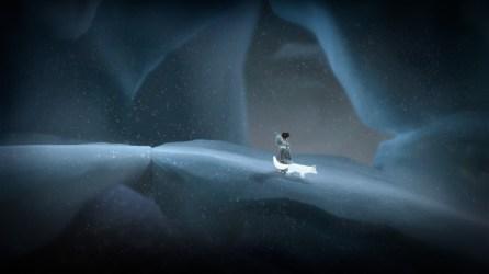 On an iceberg