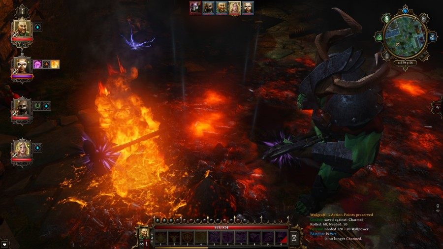 Divinity: Original Sin - Fire shield