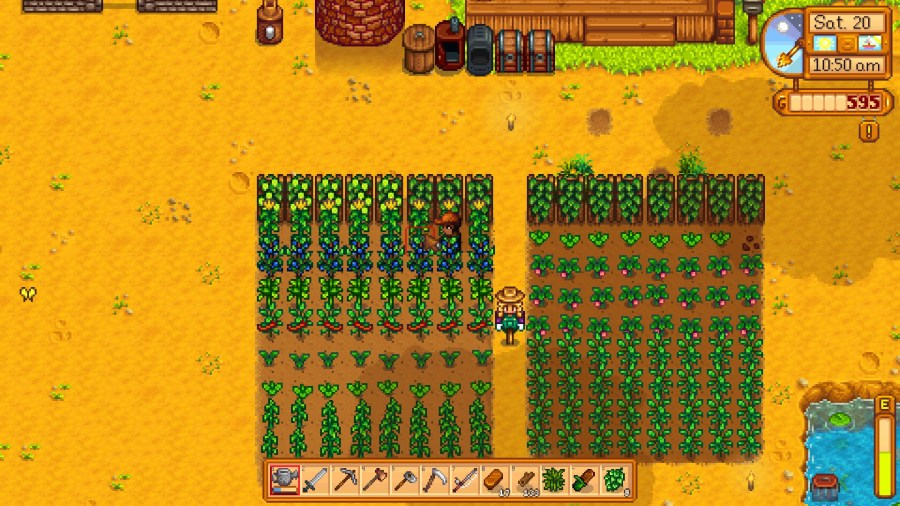 Even if my farm is more functional than pretty.