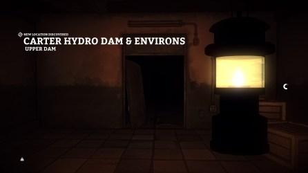 Carter Hydro Dam (Upper Dam)