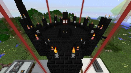 PO2 Village Black tower top