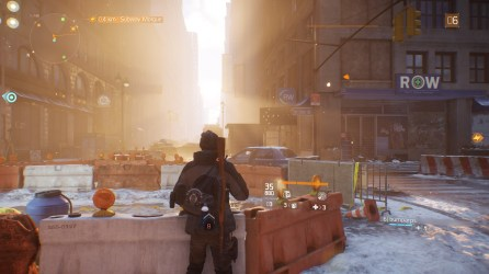 The Division: Clear and sunny