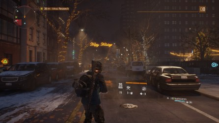 The Division: Happy holidays
