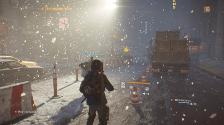 The Division: Snowy night