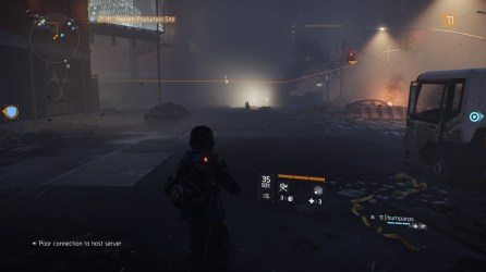 The Division: Foggy night