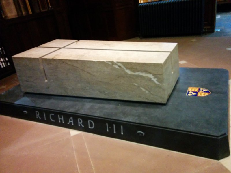 Richard III final resting place