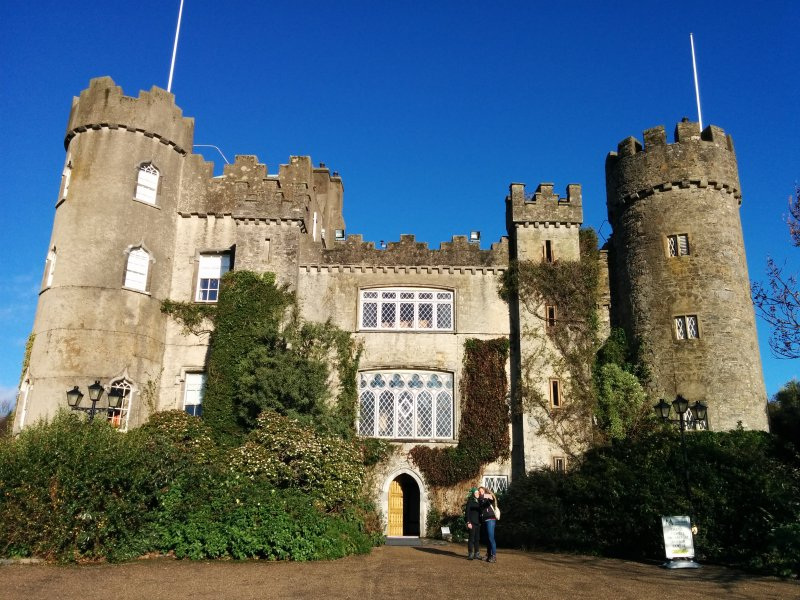 Malahide Castle in Dublin