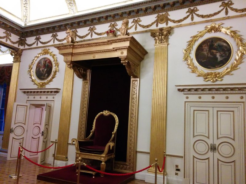 Dublin Castle Throne Room