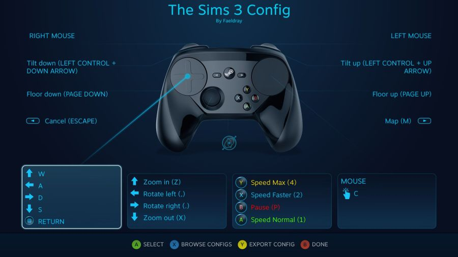 The Sims 3 Config