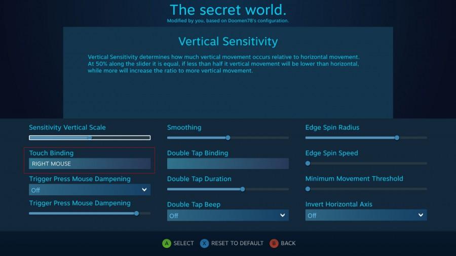 The Secret World Config