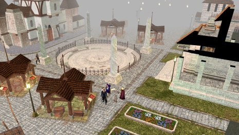 Fairloch, the capital of Aielund