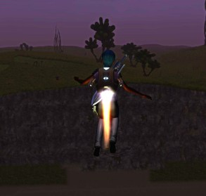 Jetpack in Planet Explorers