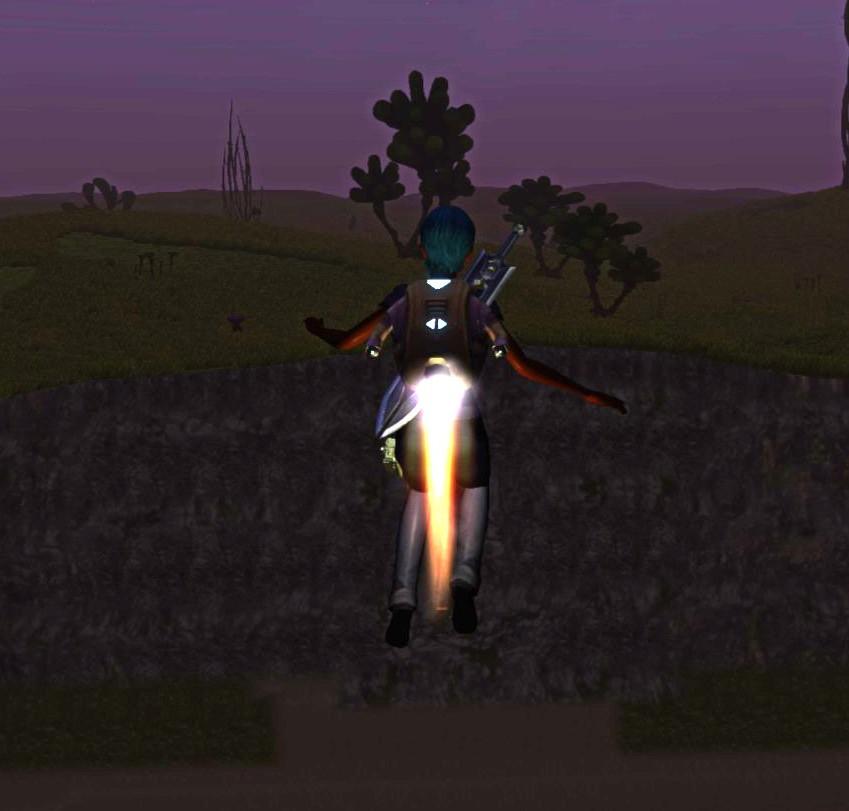Jetpack in Planet Explorers