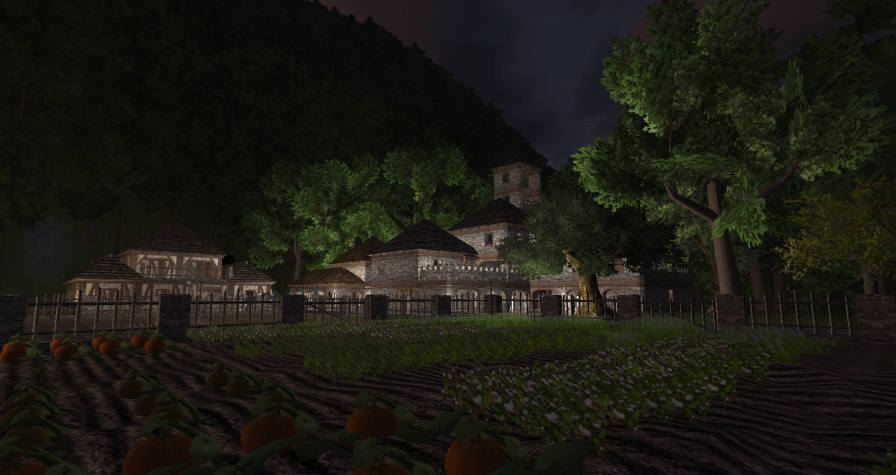 Ravenstone at night