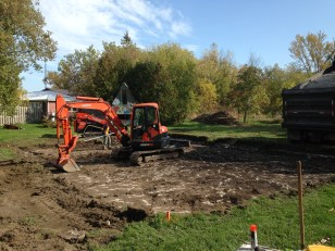 Digging to bedrock