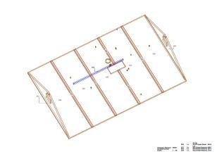 Ceiling 2 / Attic (axometric)