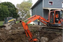Some extra drilling and digging
