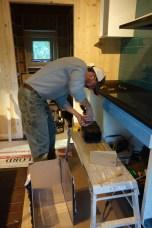 Chris fits the recirculation kit