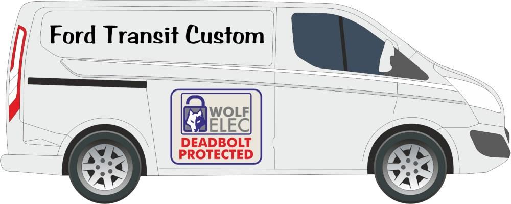 medium resolution of transit custom 2 bolt kit