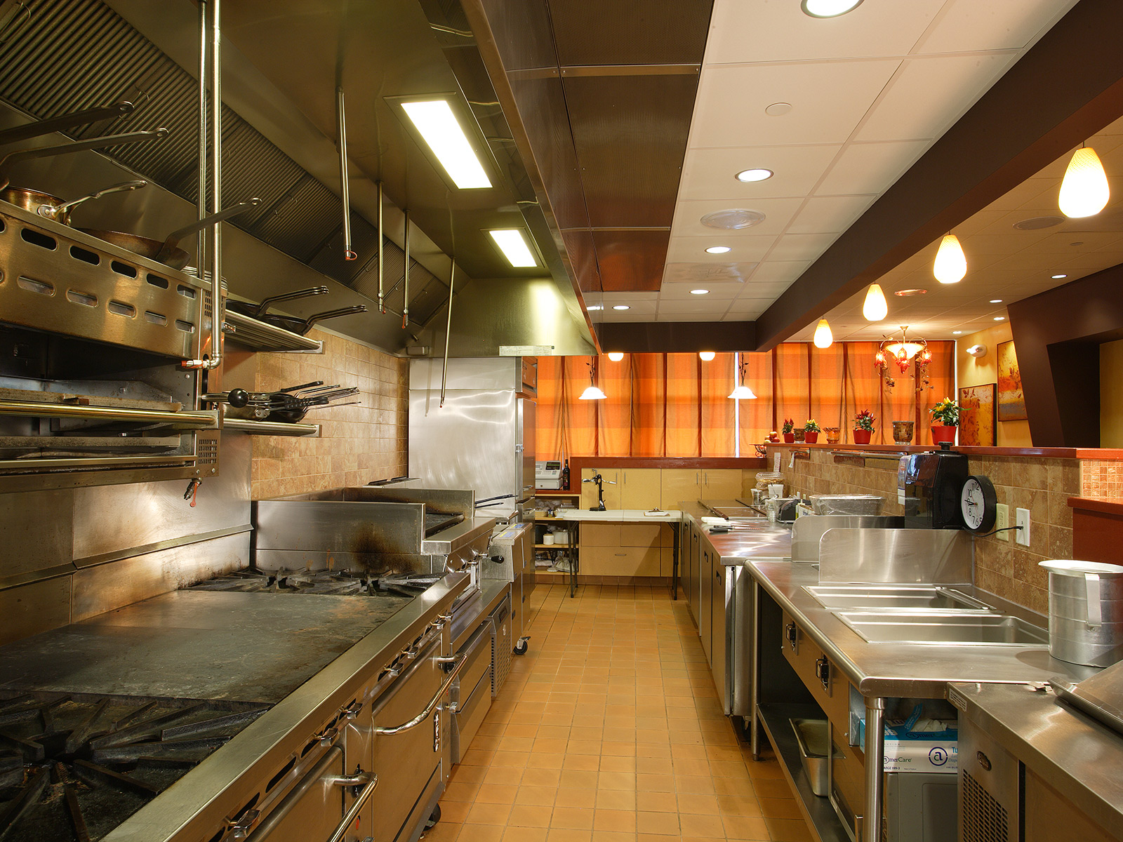 Restaurant  Catering Facility  Wolfe Scott