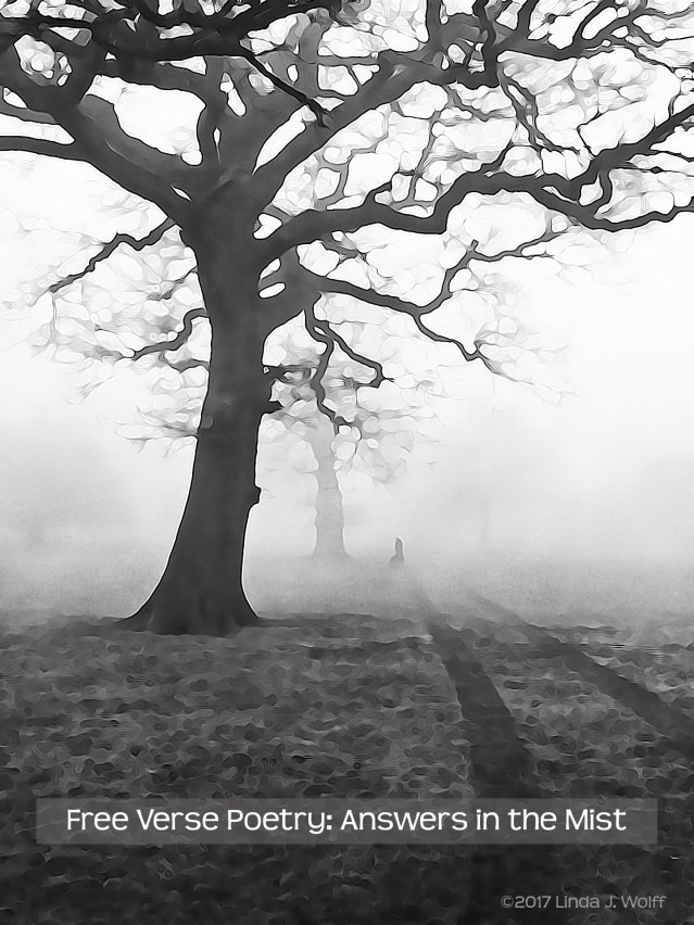 Image of Free Verse Poetry: Answers in the Mist
