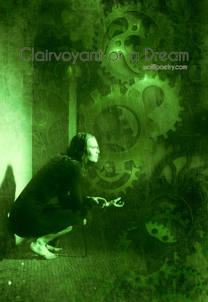 image of clairvoyant or a dream