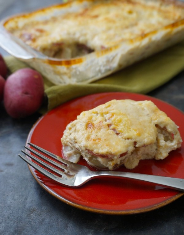 Potato Artichoke Gratin. Photo: Rachel VanDuzer