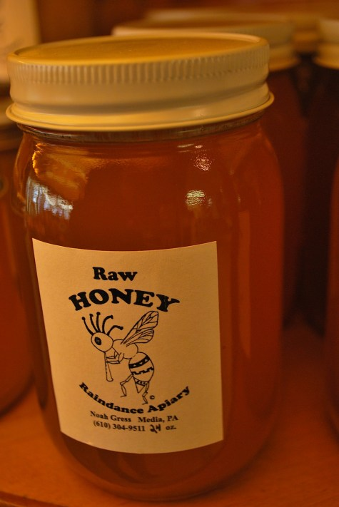 Honey from Wolff's Apple House