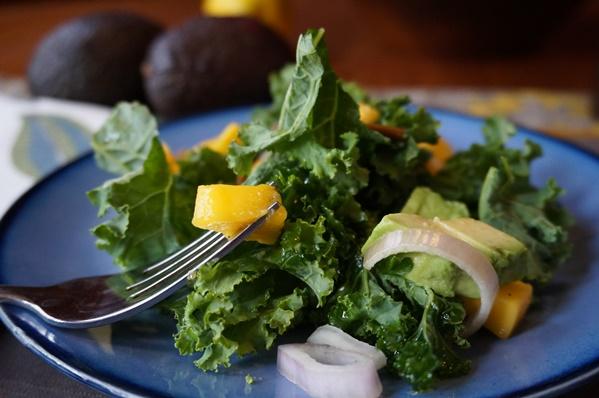 Mango-Kale Salad