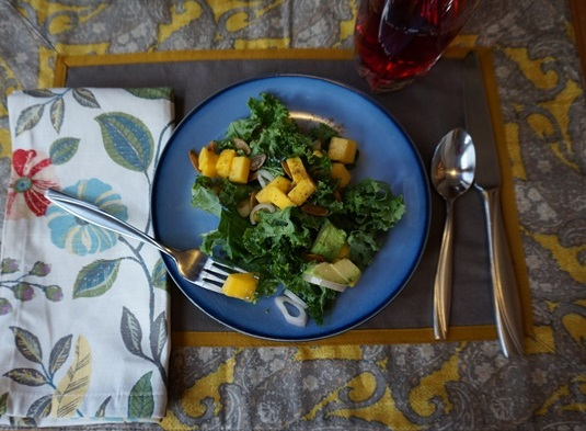 Kale Mango Salad3