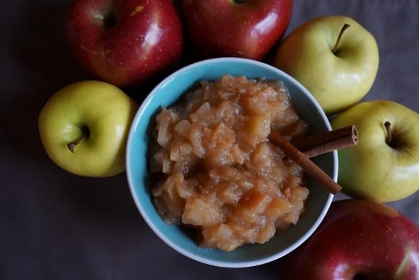 Choosing apples for applesauce