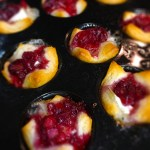 Cranberry and Brie Cups