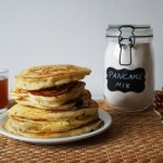 Pancakes with pancake mix