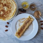 Maple Pecan Crepes
