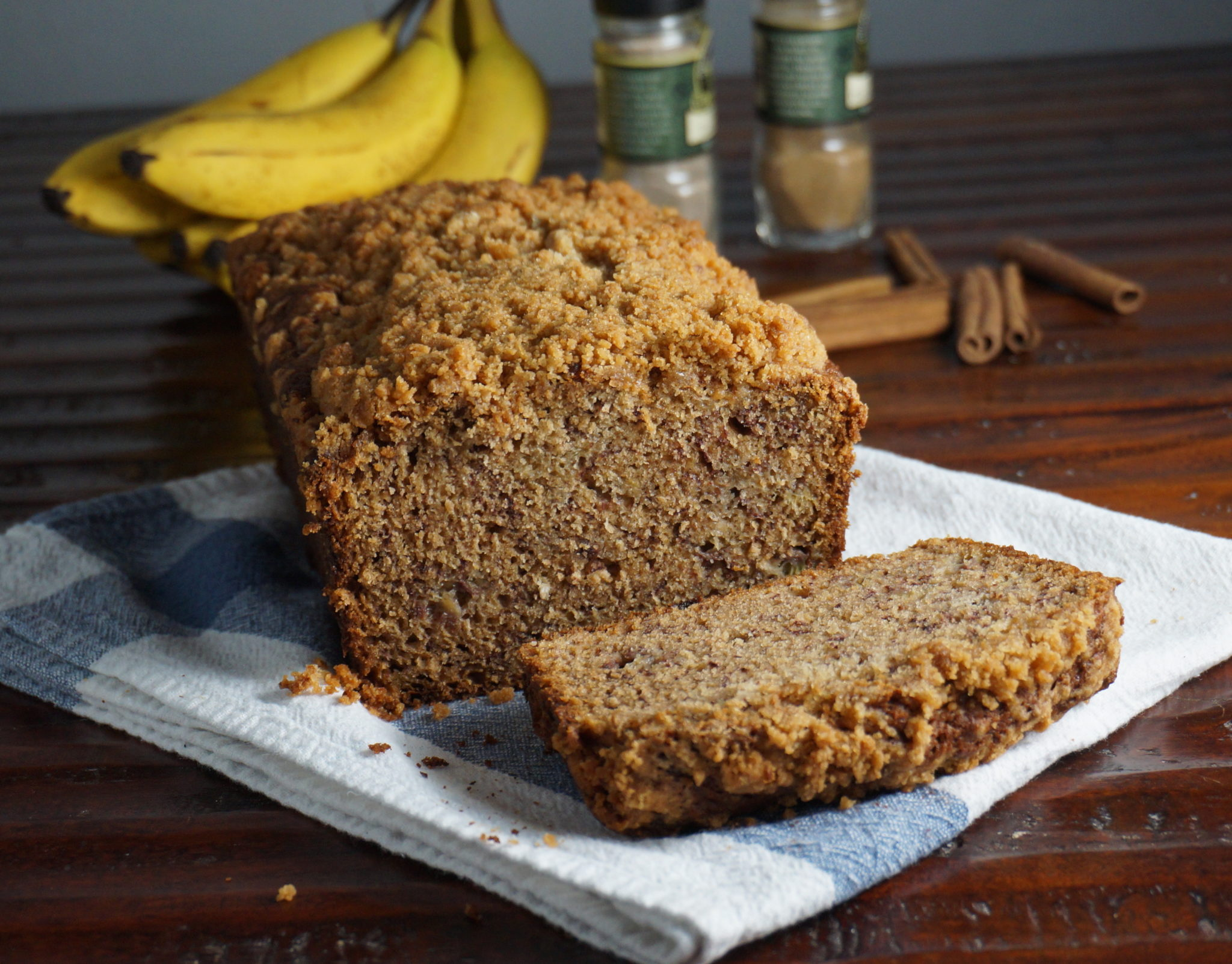 Recipe for a loaf of banana bread