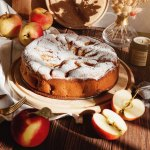 Apple Bourbon Cake Courtesy of Unsplash