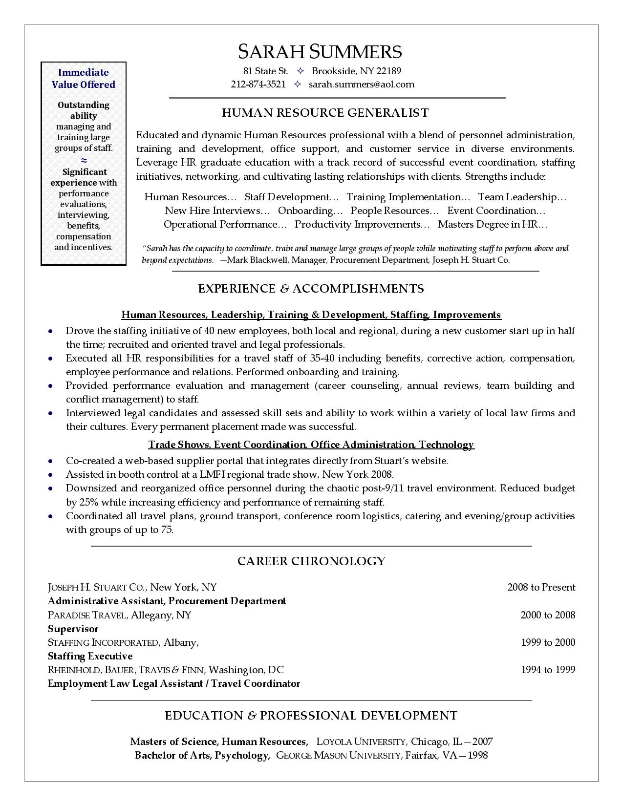 Career Change Resume Sample Free Resume Samples Wolfgang Career Executive Coaching