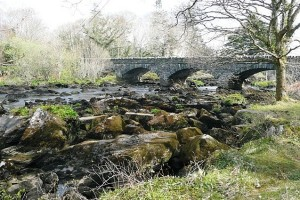 caragh river and bridge