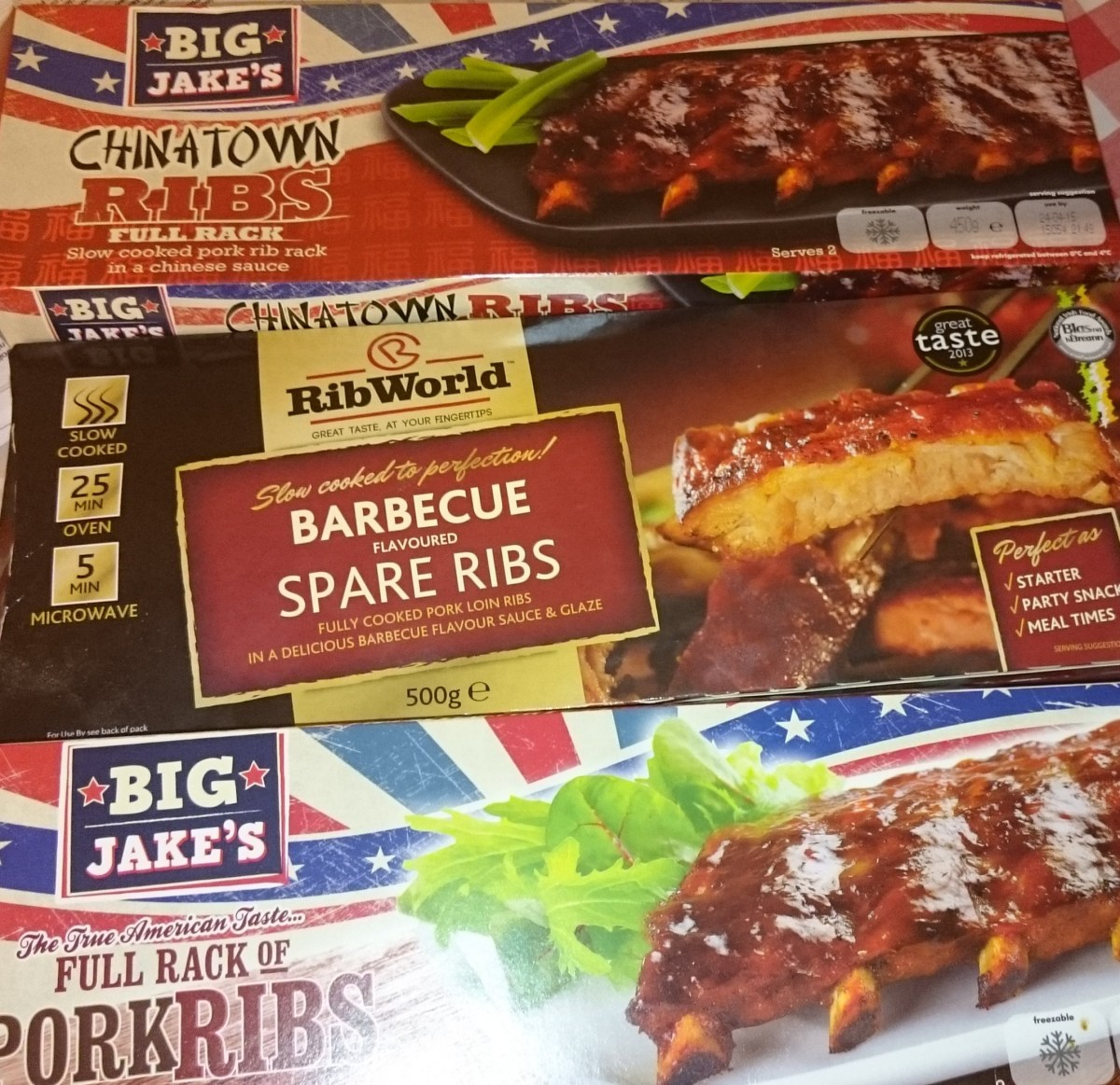 Microwave spare ribs