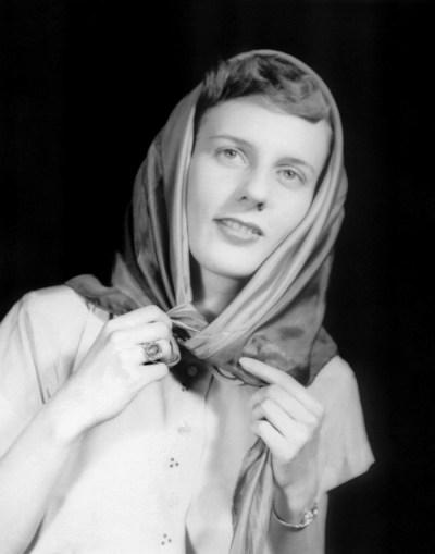 Peter's Award Winning Salon Print of Mary in 1951