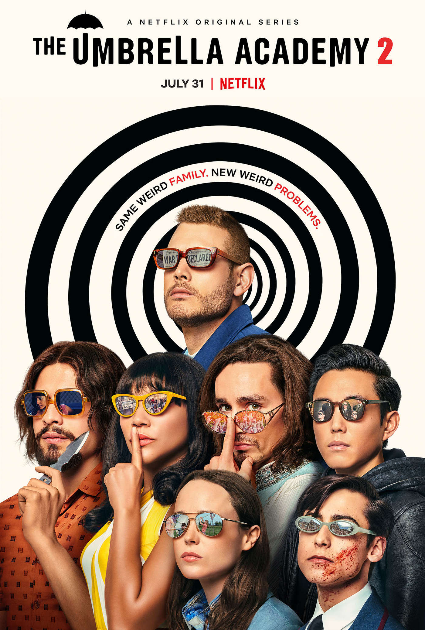 the umbrella academy - netflix - wolf in a suit - wolfinasuit - wolf in a suit blog - wolf in a suit music blog