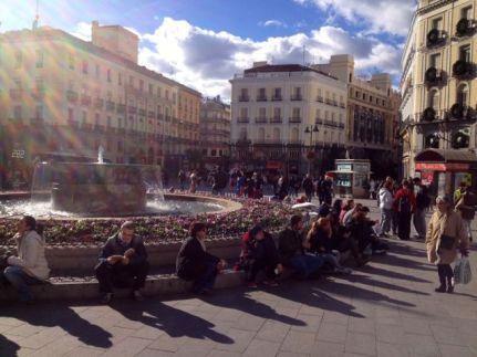 Madrid centre...
