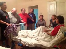 Visiting & Praying for sick in Ukraine children's hospital