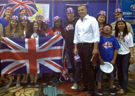 London team at EN World Conference