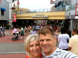 At Universal Studios Orlando