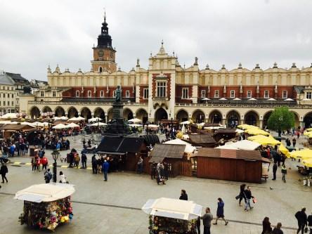 Beuatiful city square