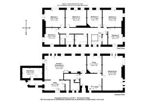 Floorplan of Wolford Lodge